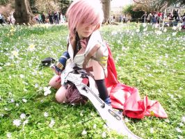 Lightning farron flower gardens by Lightninglouise