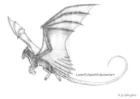 Flying Dragon by LuxSilvestra