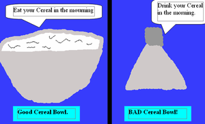 Good Cereall Bad Cereal Joke by BlackeyeI