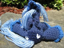 Mini Princess Luna Plushie Amigurumi 4 by RTakeshi