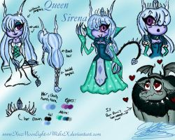 WoY: Queen Sirena - REF Sheet by XxMoonlight-1-WishxX