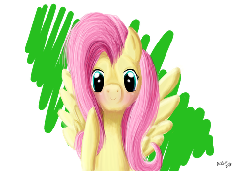 Fluttershy by Fangirl-Archer