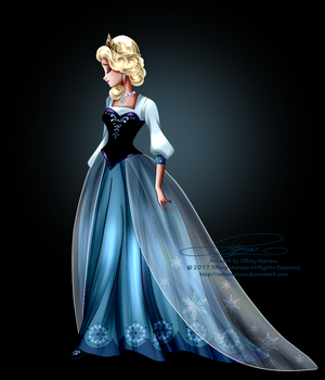 Disney Haut Couture - Elsa by selinmarsou