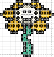 Flowey-smiling by madam--guillotine