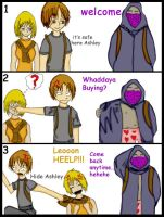 RE4 Embarrassing Moment by Mahadesu