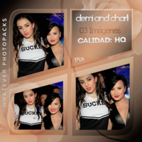 Photopack 0577 - Demi Lovato And Charli XCX by WhateverPhotopackss