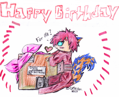 A birthday present for... me? by TehChibiFanGirl