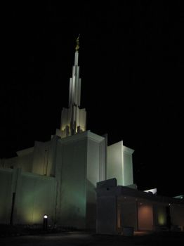 Denver Temple by ginabina007