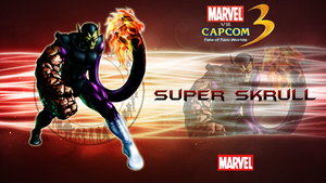 Marvel VS Capcom 3 SuperSkrull by CrossDominatriX5