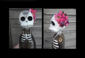 Lillith Bone Cute Art Doll by Fairykist