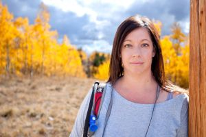 Rhonda in the Aspens by jbkalla