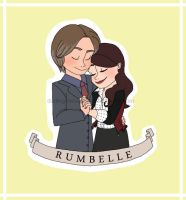 || Happy 2nd Anniversary Rumbelle!! || by Kat11120