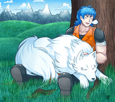Commission - Toriko + Terry by MystSaphyr