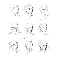 Hair Styles Vol 9 by ron-guyatt