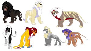 lion adopts by mylionkingpride