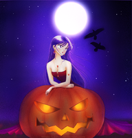 Sailor Moon - Happy Halloween by Mistic-Ladies