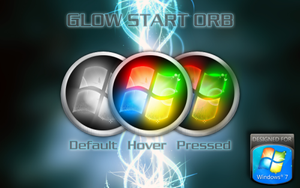 Glow Start Orb for Windows by ManyMen1