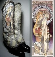 Sarah Bernhardt Unique Spats by MAIDESTREASURIES
