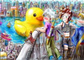 Kiss the Duck by UnknownSoulCollector
