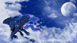 [MLP] Princess Luna by yoonny92