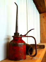 The Oil Can by JMPorter