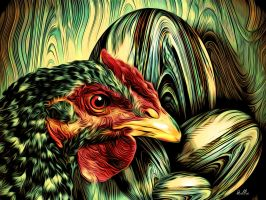The Reluctant Hen by hallbe