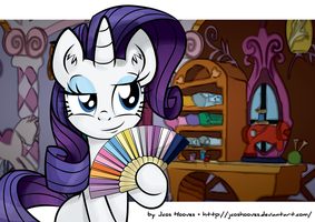 Rarity The Generous by JcosNeverExisted