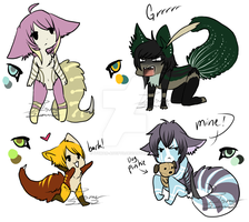 Clawtail Adopts.:offer to Adopt:.CLOSED by itsmar-Adopts