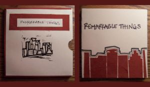 Remarkable Things Book by vinylspin