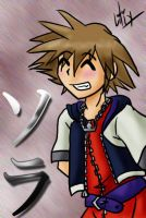KH Sora Has a Blush by liliy