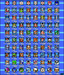 All Megaman Bosses and more by Jackson93