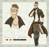 [Fallout] RICO REFERENCE by GoneViral