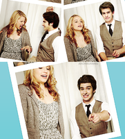 DIANNA AGRON AND ANDREW GARFIELD by archiburning