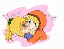Kenny loves Kelly by MySweetArte