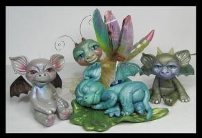 Fantasy Littles Creatures by KabiDesigns