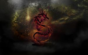 red dragon by bjenssen