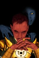 Sinestro and Lyssa Drak by PennNorris