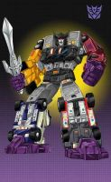 Transformers G-1 Menasor by Dan-the-artguy