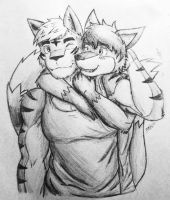 Brotherly Bond by icelucario