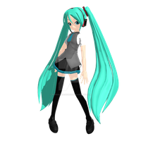 ~*.:MMD - Animasa Secret Garden Miku.:*~ by PandaSwagg2002