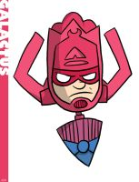 Galactus by striffle