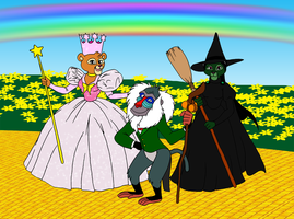 Wizard of Oz -LKHFF Style- 2 by BennytheBeast