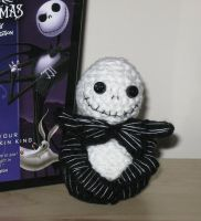 Jack Skellington Amigurumi by Craftigurumi