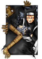 Kankuro: The Puppet Master by Goth-Virgy