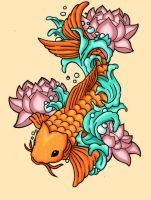 Future Koi Tattoo by PenthesileiaRavyn
