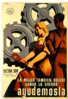 poster promoting feminism 1940 by dlink97
