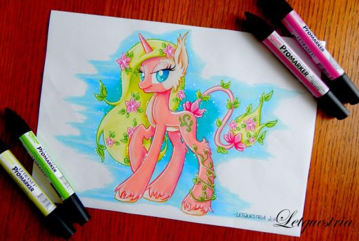 Blossom Nymphea , Nymphi are a Closed species by LtiaChan