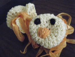 Baby Chick Mittens by jadeg3
