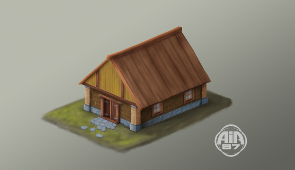 Game Design - first step - House by air87art