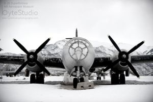 Hill AFB Superfortress by ByteStudio